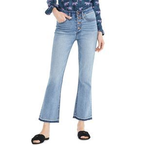 J.CREW Billie Demi High Rise Demi Boot Jean PLUS